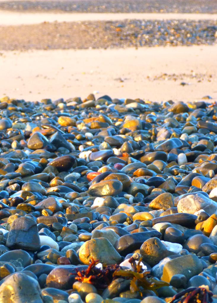 coloured rocks slide
